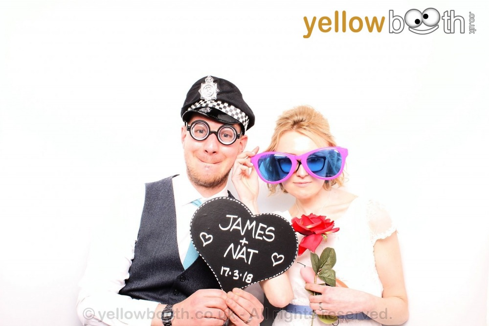 2018-03-17 - James & Nat's wedding, Eden Project